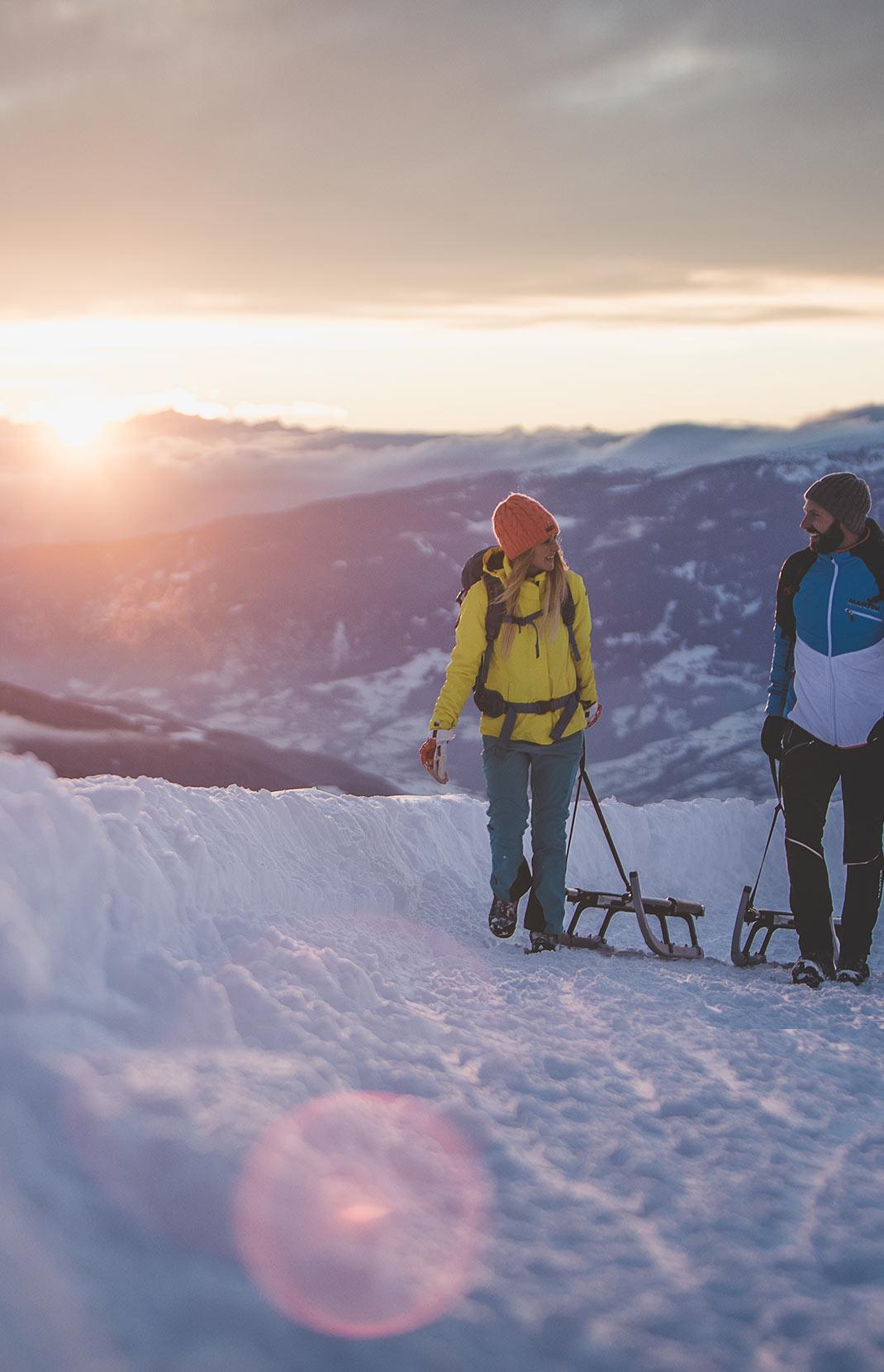 Winterurlaub in Brixen & auf der Plose